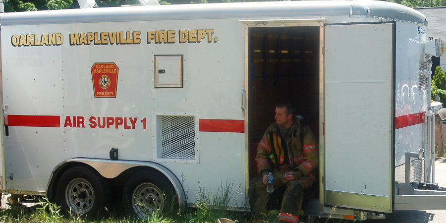 Oakland Mapleville Fire Department Air Supply 1