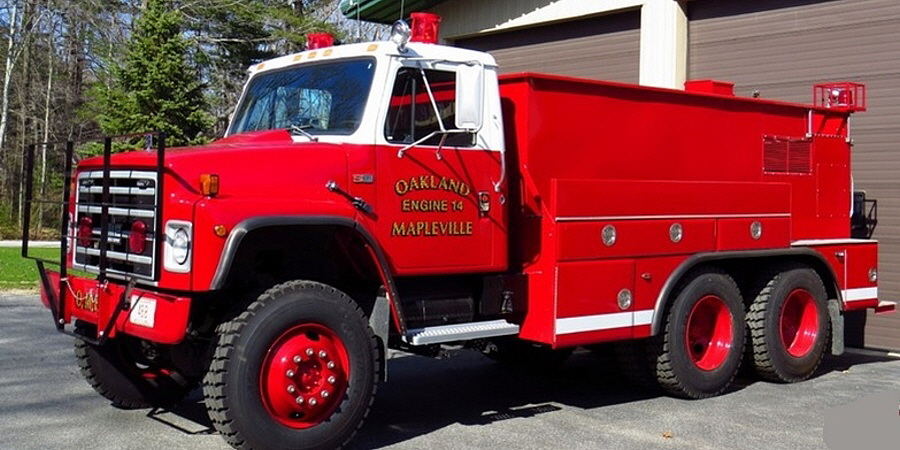 Oakland Mapleville Fire Department Engine 14