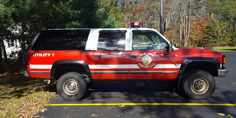 Oakland Mapleville Fire Department Utility 1